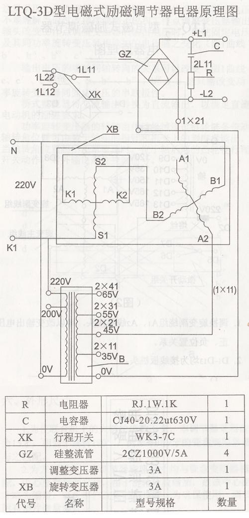 1档至v档均为变压轴头,供调节输出电压作用.
